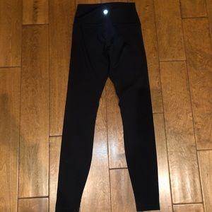 Lululemon black high waisted leggings
